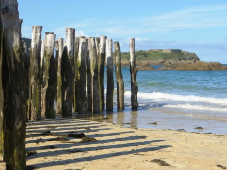 Sea Defences St Malo Brittany France