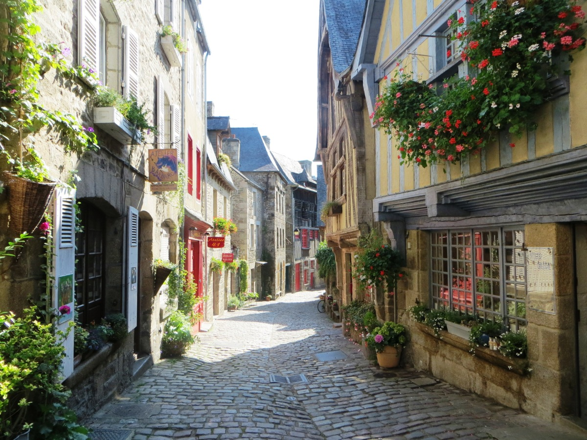 France, A Medieval Walled Town