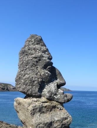 Les rochers sculptés St Malo France