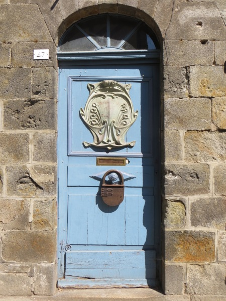 Door Detail Dinard Brittany France