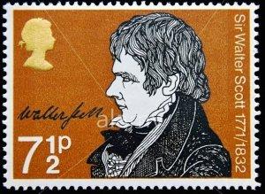 Walter Scott Postage Stamp