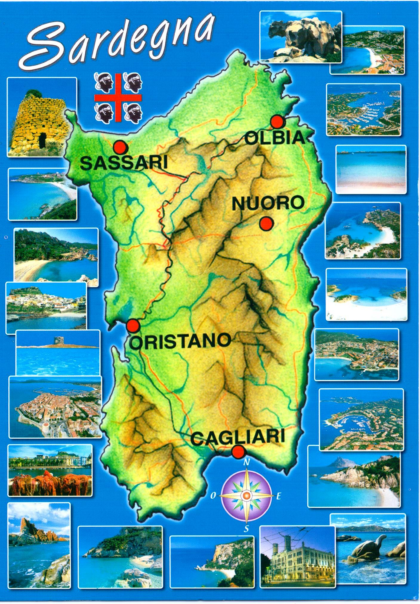 Sardinia, Postcards | Have Bag, Will Travel