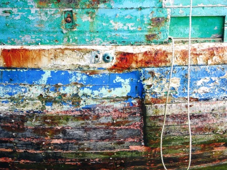 Dinard Brittany Boat Detail