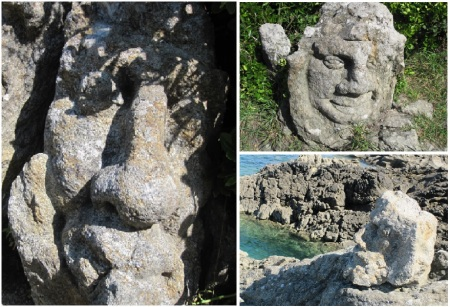 Rock Sculptures St Malo