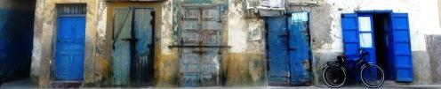 Essaouira Blue Doors