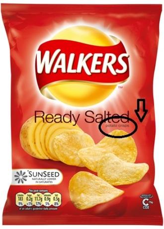 Walkers Potato Crisps