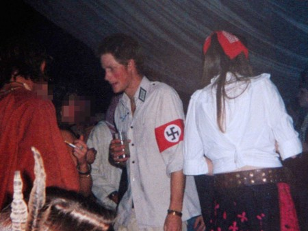 Prince Harry as a Nazi