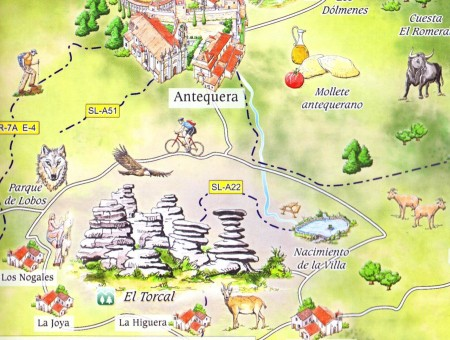 Antequera Map