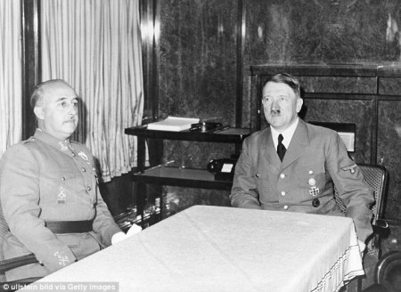 Franco meets Hitler