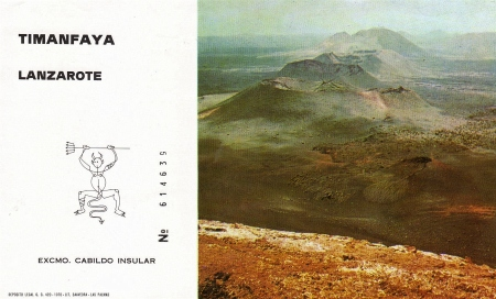 Entrance Ticket - Timanfaya Lanzarote