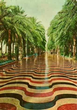 Alicante promenade 1959