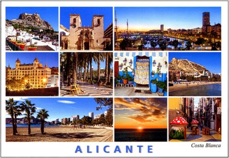 Alicante Postcard