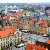 St Elizabet's Wroclaw View from the Top