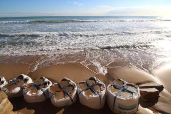 Sea Defences Guardamar Spain