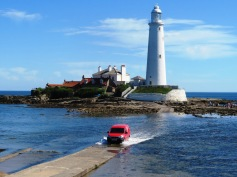 Post Delivery St Mary's Lighthouse Northumberland