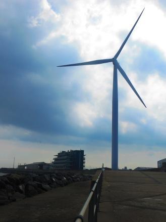 Goliath wind turbine Ness Point Lowestoft