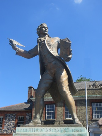 Thomas Paine Thetford Norfolk