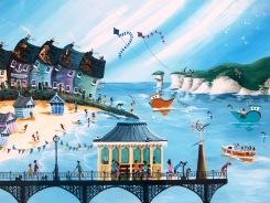 Northumberland Seaside Painting
