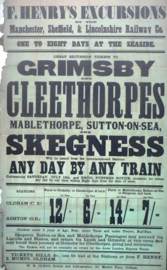 Cleethorpes Excursion Poster