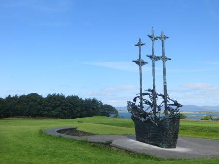 Ireland National Famine Memorial Westport