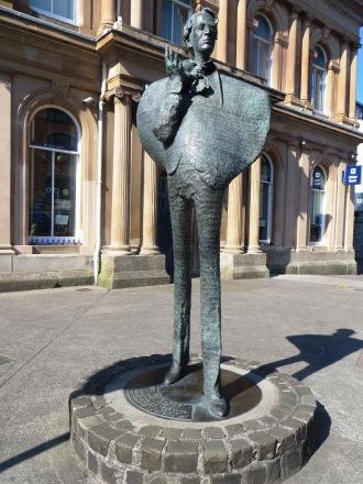W B Yeats Sligo Statue