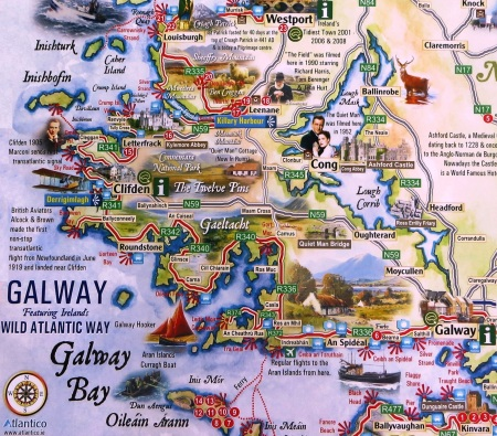 Wild Atlantic Way Galway to Westport