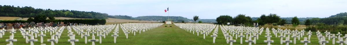 France, Vic-Sur-Aisne and World-War-One