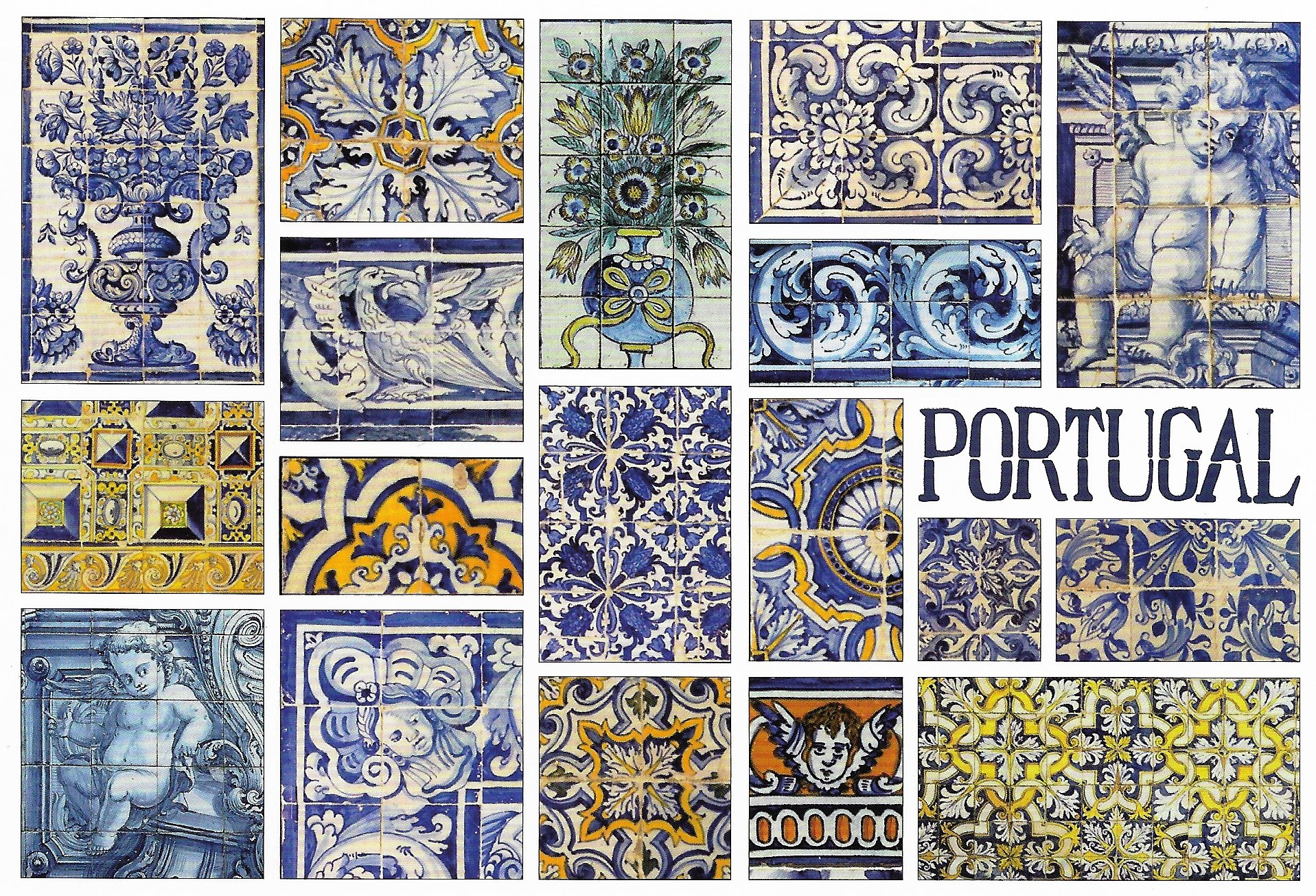 Portugal Tiles Ajulejos