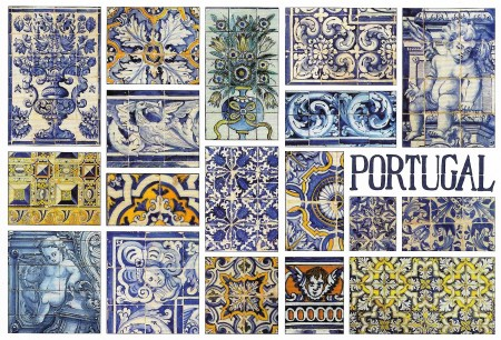 Portugal Tiles Ajulejos