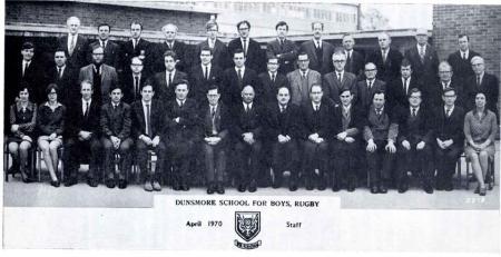 Dunsmore Staff 1970