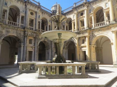 Fountain at Convento de Cristo Tomar