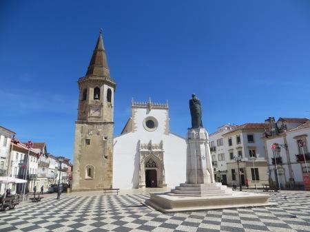 Tomar portugal Main Square