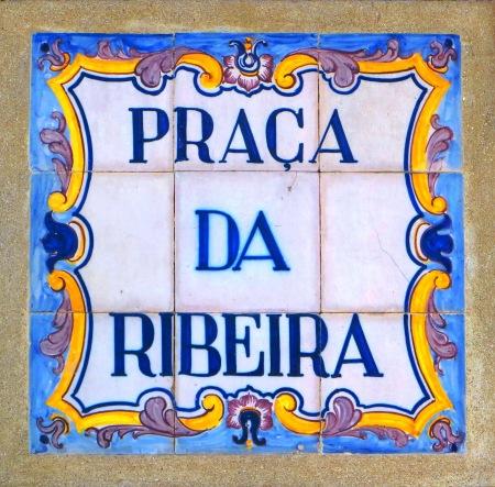 Porto Street Sign Ribiera