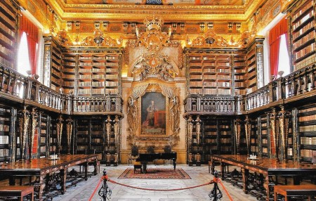 Joanina Library Coimbra University