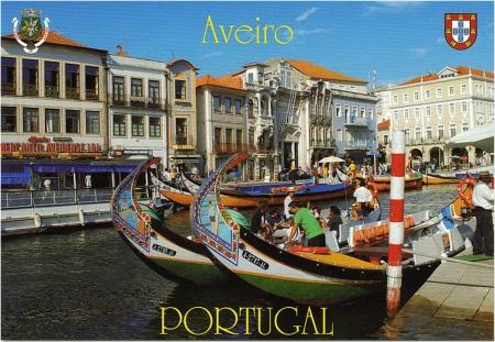 Aviero Postcard
