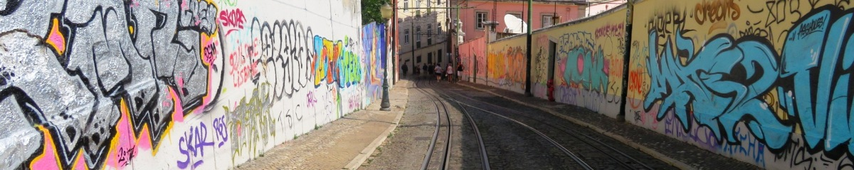 Portugal, Lisbon Streets - Art or Vandalism?