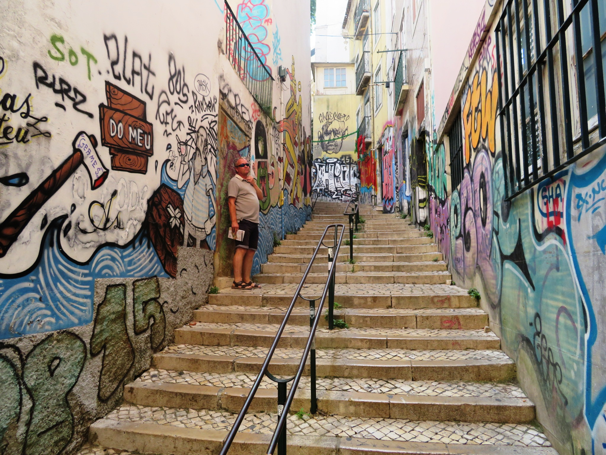 Where do you stand on the issue of urban art or criminal graffiti