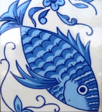 Fish Tile Ovar