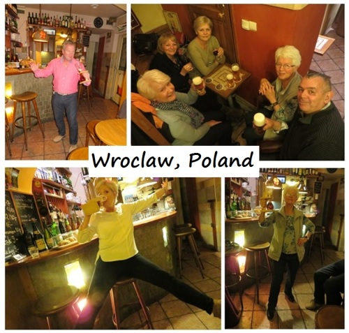 Beer Drinking in Wroclaw