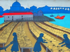 IVila do Conde Fishing Mural