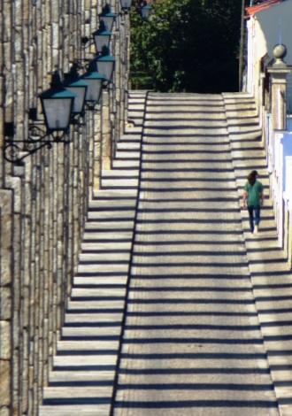 Vila do Conde Aqueduct shadows