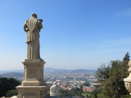 Braga from Bom Jesus do Monte