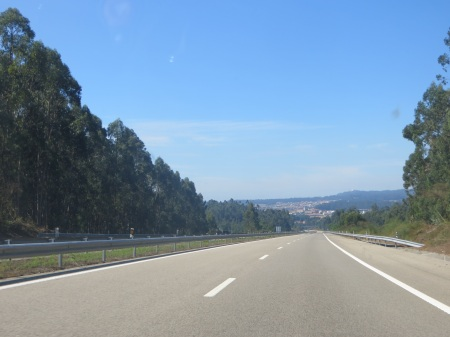 Empty Motorway Portugal