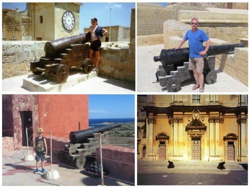 Gozo Malta Cannons