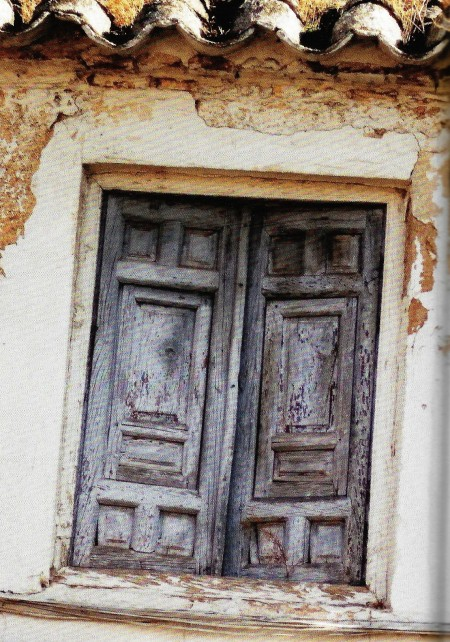 Shuttered Window Spain