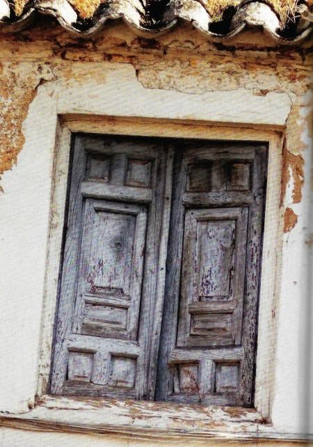 Shuttered Window Spain