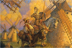 Don Quixote and Windmills