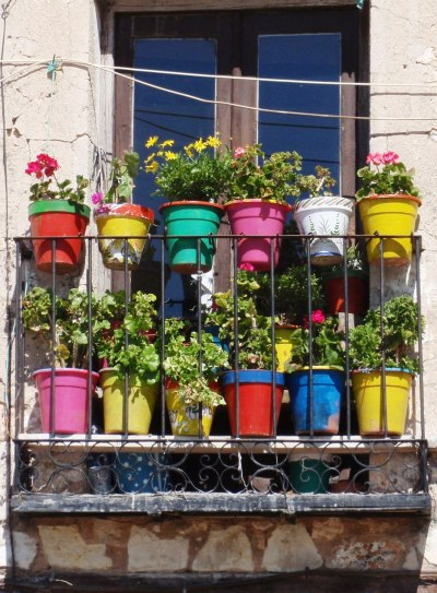 Window Garden Cuenca Spain