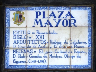 Plaza Mayor Siguenza