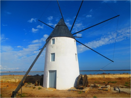 Windmill Lo Pagan Spain
